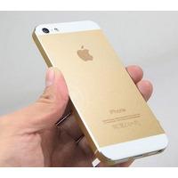 Carcaça Iphone 5s Dourada Gold Original