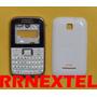 Carcaça Ex108 Branca Original Motorola Tampa Lente Teclado