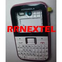 Carcaça Branca Rosa Ex109 Motorola Adaptavel No Ex108