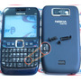 Carcaça Nokia E63 Azul Original + Teclado Br Ç Exclusivo