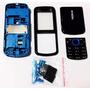 Aro Carcaça Do Cel Nokia 5320 Azul C/ Preto Novo Envio Já
