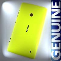 Tampa Da Bateria Nokia Lumia 520 Amarela Original