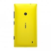 Tampa Traseira Nokia Lumia 520 Amarela Original + Película