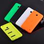 5 Tampas Traseira Celular Lumia 630 N630 + Pelicula De Vidro