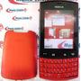 Frete Grátis Carcaça Nokia Asha 303 N303 Vermelha Chassi