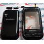 Carcaça Samsung C3300 Black + Touch Screen Beat Mix