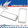 Friso Moldura Aro Prata Lateral Para Samsung Galaxy S I9000