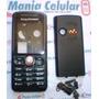 Frete Grátis! Carcaça Sony Ericsson W200 Black