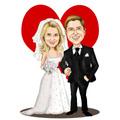 Caricaturas Para Convites De Casamentos Aniversários E Muito