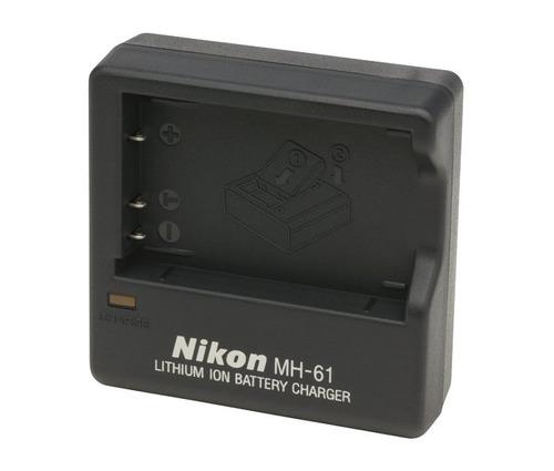 Carregador Nikon Mh-61 Para En-el5 P500 P5100 S10 P4 P3 3700