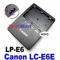 Carregado De Lc-e6e P/ Bateria Lp-e6 5d Markii 7d 60d Eos