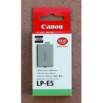 Bateria Original Canon Lp-e5 Eos 450d Rebel Xsi 1000d T1i X2