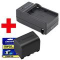 Carregador + Bateria Vg121u Jvc Everio Gz-hd660 Hm30 Hm300