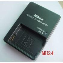 Carregador Nikon Nh-24 P En-el14 Coolpix D7000 D5100 D3100