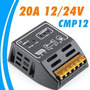 Controlador De Carga P/ Paineis Solares12/24v 20a