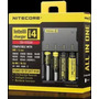 Recarregador Nitecore Intellicharger I4 - Baterias 18650