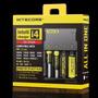 Carregador Nitecore I4 Para Pilhas E Baterias