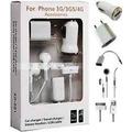 Kit 5 Em 1 Iphone 4g 4gs 3g 3gs
