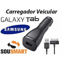 Carregador Veicular Original Galaxy Tab 2 P3100 P3110 P5110