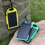 Carregador Celular Solar Usb Portátil Prova Dágua