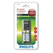 Carregador De Pilhas Philips Aa/aaa Com 2 Aa 2450mah - 110v