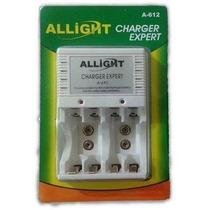 Carregador Allight/pilha/bateria Aa/aaa /9v/rec /universal
