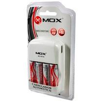 Carregador Mox + 4 Pilhas Aa Recarregáveis Xbox One 360 R31