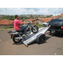 Carreta Reboque Basculante Para Uma Moto (bravo Carretas)