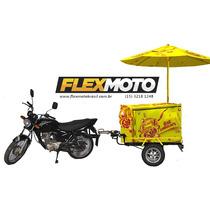Carretinha Ambulante, Carrinho Ambulante, Para Moto