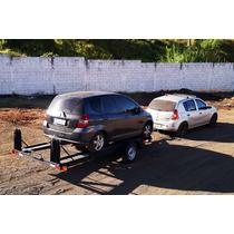 Carreta Transporte Veicular 1 Eixo Bravo Carretas