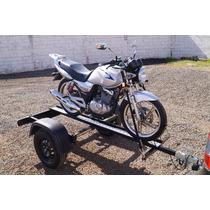 Carreta Reboque 1 Moto Slim 10x Sem Juros (bravo Carretas)