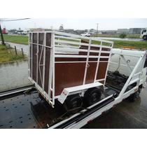 Reboque, Carretinha 01 E 02 Cavalos Mod. Cargo