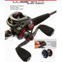 Carretilha Lubina Black Widow Gts 8.0:1 - Marine Sports