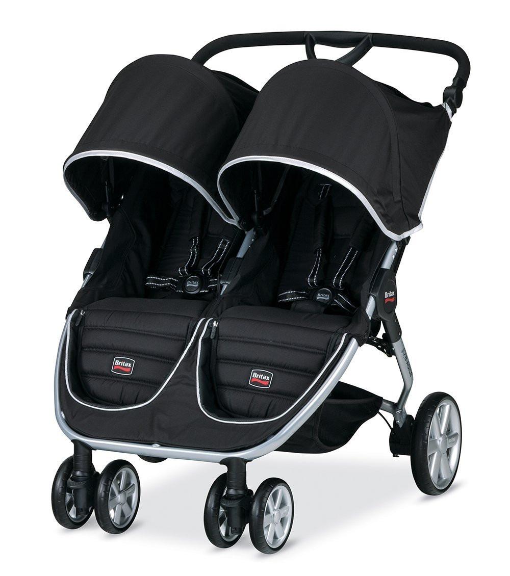 Carrinho De Bebe Para G 234 Meos Britax B Agile Stroller Preto