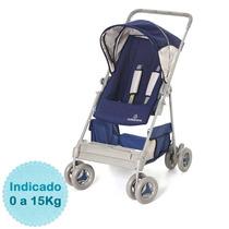 Carrinho De Bebê - - Riviera - Azul Galzerano