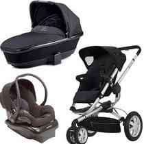 Carrinho Quinny Buzz 3travel System C/berço E Bebê Conforto