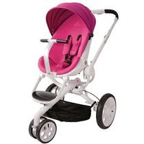 Carrinho De Bebê Quinny Moodd Stroller 3 Rodas Rosa C Branco