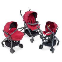 Carrinho De Bebê Trio Love - Red Chicco