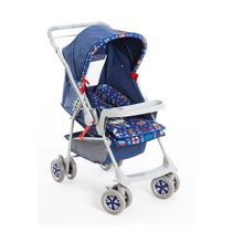 Carrinho De Bebê Náutico Milano Reversível Galzerano