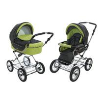 Carrinho Bebê Roan Kortina Stroller 2 Em 1 - Verde