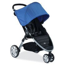 Carrinho De Bebe Britax B-agile 3 Rodas Stroller - Azul