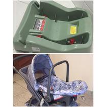 Carrinho De Bebê + Bebê Conforto + Base Para Carro+ninho