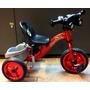 Brinquedo Triciclo Infantil Tubular De Aço Original