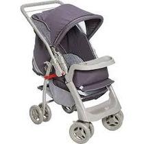 Carrinho De Bebê Pegasus Cinza - Galzerano - 4babies