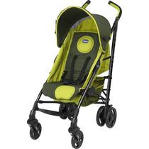Carrinho De Bebê Verde Lite Way Basic Green Wave Chicco 5pos