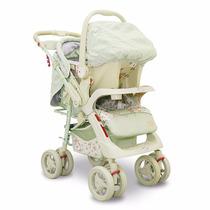 Carrinho De Bebê C/ Bebe Conforto E Mochila Baby Style