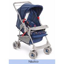 Carrinho De Bebê Milano Náutico - Galzerano