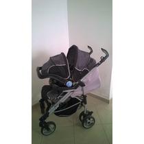 Carrinho De Bebê Com Bebê Conforto Infanti