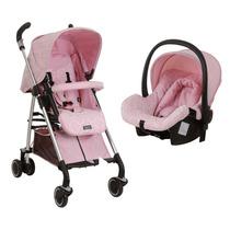 Carrinho De Bebê Compasso E Bebê Conforto Baby - Ibiza B
