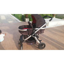 Carrinho De Bebê Chicco Urban + Color Pack Red